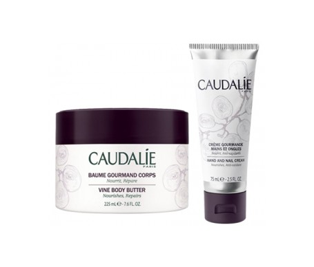 Caudalie Cofre Corps Gourmand Body Butter 225ml+nail Cream 75ml