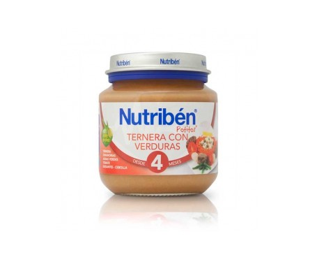 Nutribén™ Potito™ beginner beef and vegetables 125g