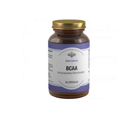 Internature BCAA- Aminoácidos Ramificados 60 caps