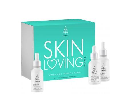 Kit per la cura della pelle Alpha-H Vitamine A+Vitamina C + Vitamina E Siero Facciale