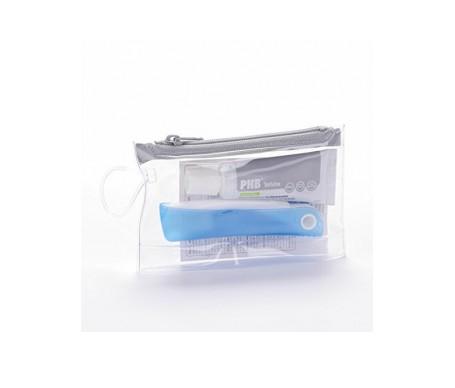 PHB® kit de viaje white cepillo 1ud + pasta 15ml