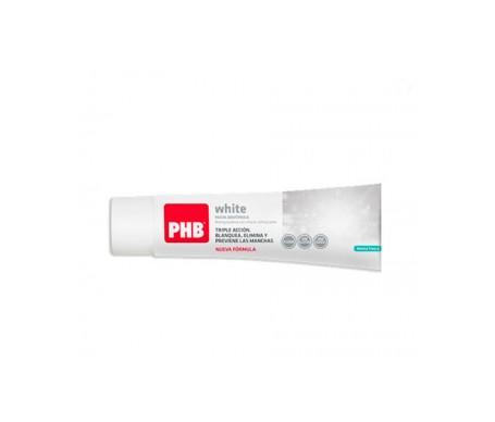 PHB Pâte dentifrice blanchissant blanc 100ml