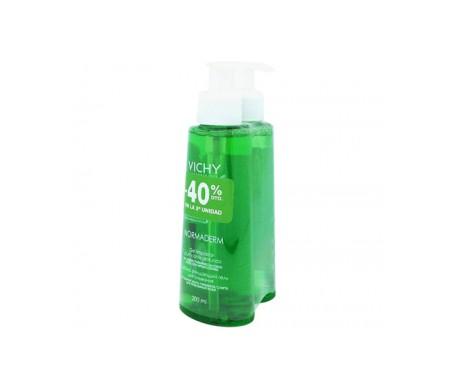 Gel detergente Vichy Normaderm 2x200ml