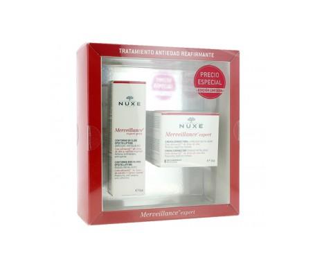 Nuxe Cofre Merveillance Expert crema enriquecida 50ml + contorno ojos 15m