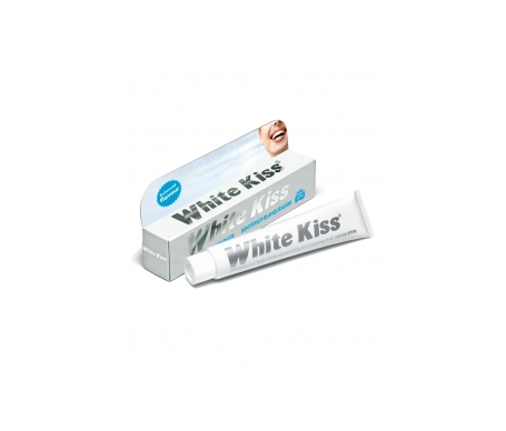 White Kiss dentífrico blanqueador 50ml