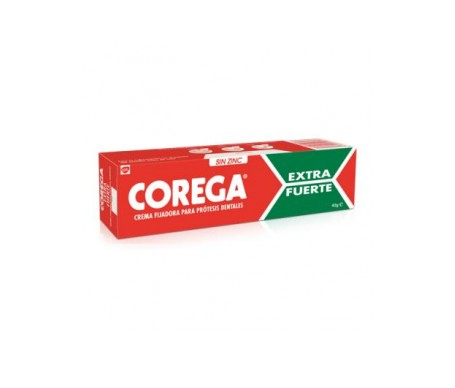Corega® Extra Fuerte crema fijadora 40g
