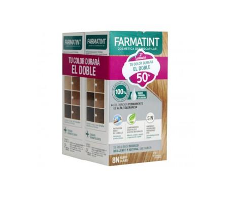 Farmatint Pack 8N biondo chiaro 2x150ml