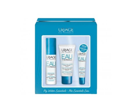 Uriage Pack Hidratación crema de agua 40ml+sérum de agua 30ml+agua termal 15ml