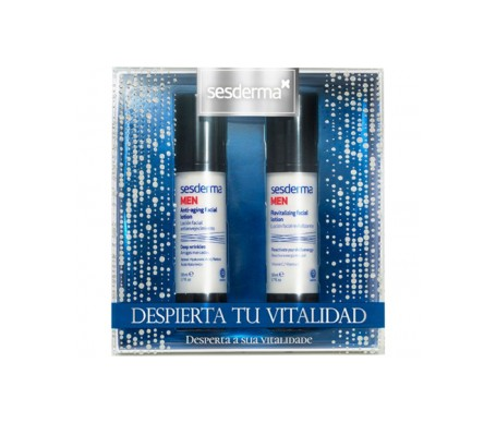 Sesderma men pack loción revitalizante 50ml + loción antiedad 50ml