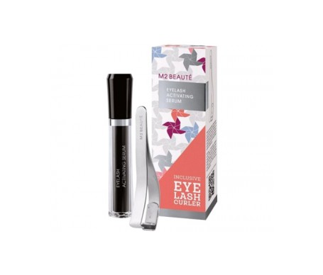 M2 Beauté Eyelash Activating sérum 5ml + rizador pestañas