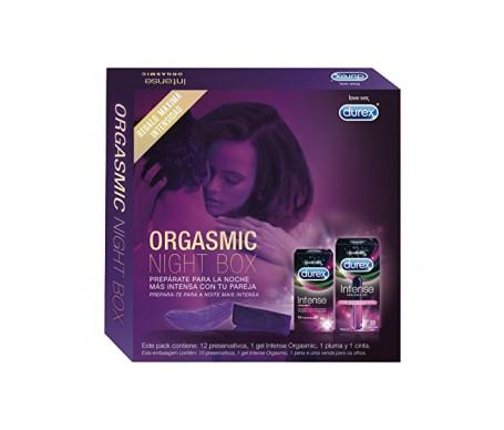 Durex Orgasmic Night Box  gel 10ml + preservativos 12uds