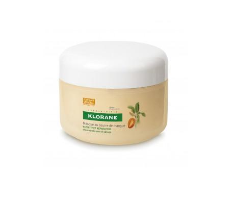 Klorane mascarilla nutritiva a la manteca de mango 150ml