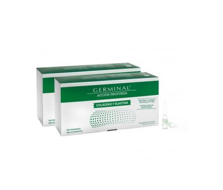 Germinal Colageno y Elastina ampollas Pack Farmacia Bergua