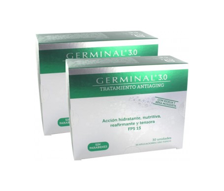 Germinal tratamiento 3.0 ampollas Pack Farmacia Bergua