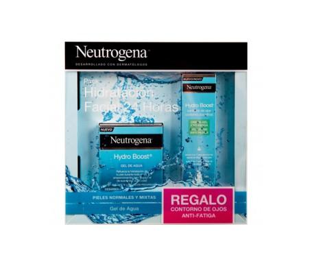 Neutrogena® Pack Hydro Boost® pieles normales/mixtas gel de agua 50ml + contorno de ojos anti-fatiga de regalo 15ml