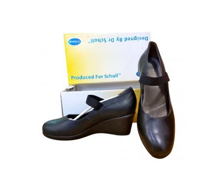 Scholl Zapato Abierto Clovelly Black Cuero Nº40