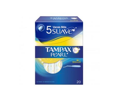 Tampax Compak Pearl regular 20uds + 3uds de regalo