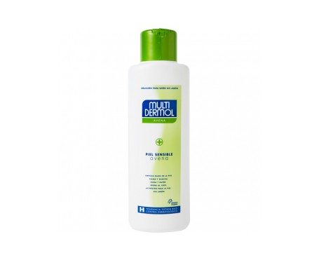 Multidermol avena gel de baño sin jabón 750ml
