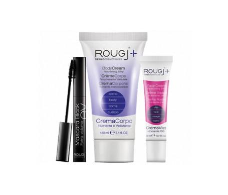 Rougj Pack Le Kuth máscara pestañas 10,5ml + dermocosmetique crema corporal 150ml + crema facial hidratante 24h 30ml