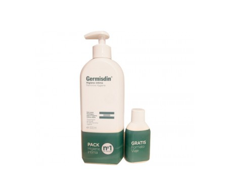 Germisdin® Calm higiene íntima 500ml + formato viaje