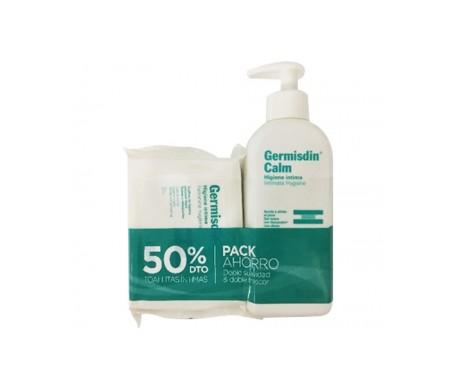 Isdin Germisdin® Pack Calm higiene íntima 250ml + toallitas 20 uds