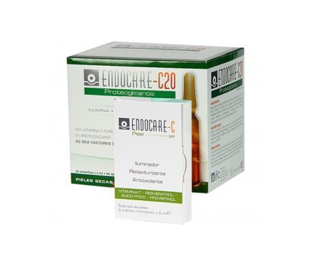 Endocare Pack C-20 30 ampollas+ Peel gel 3 ampollas
