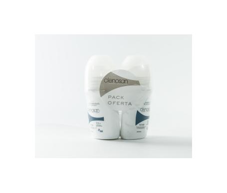 Clenosan pack desodorante sin alcohol 75ml+75ml