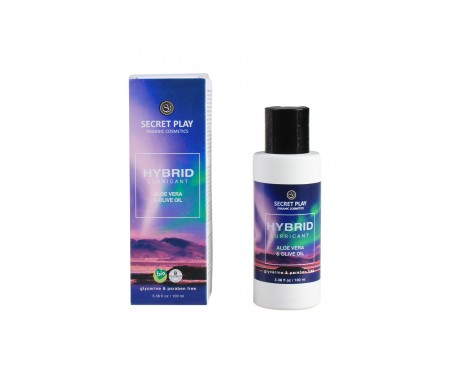 Secret Play Hibrido lubricante orgánico 100ml