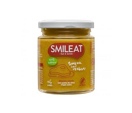 Smileat Tarrito De Ternera Con Verduras Ecológico