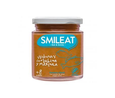 Smileat Tarrito De Verduras Con Lubina Y Merluza Ecológico