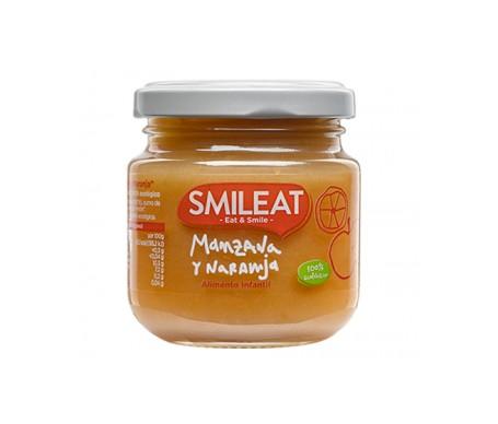 Smileat Tarrito De Manzana Y Naranja Ecológica