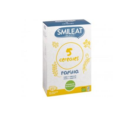 Smileat Papillas 5 Cereales Bio