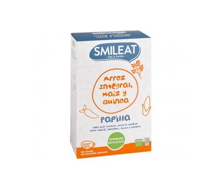 Smileat Papillas Arroz Integral, Maíz Y Quinoa Bio
