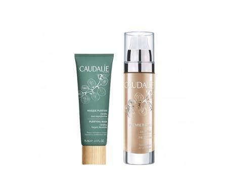 Caudalie Premier Cru cream 50ml + purifying mask 50ml