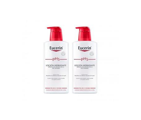 Eucerin Duplo pH5 Loción Intensiva piel Sensible 2x400ml
