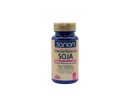 Sanon concentrado de soja rico en isoflavonas 100cáps