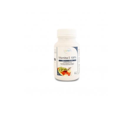 Sanon vitamina E 100% 100cáps