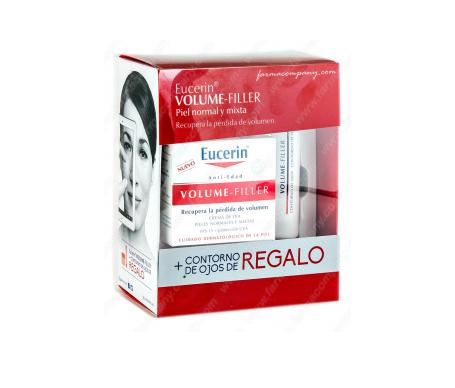 Eucerin Volume-Filler Crème de jour Fps 15 + Contour des yeux 15ml