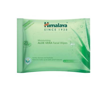 Toallitas Limpiadoras Faciales De Aloe Vera 25`s