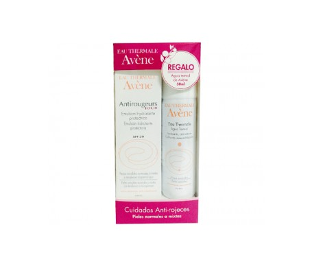 Avène Pack Antirojeces Crema Spf20 + Agua Termal Regalo
