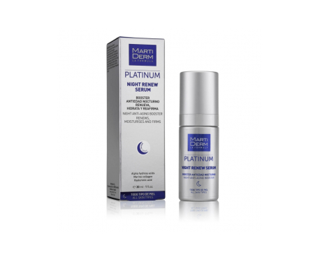 Martiderm® Night Renew serum Platinum 30ml