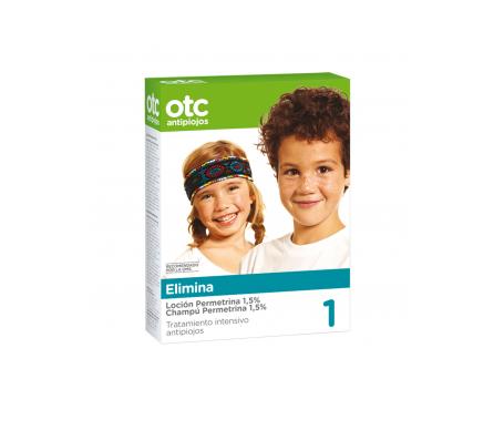 OTC antipiojos pack elimina loción 125ml + champú 125ml