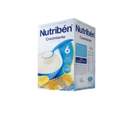 Nutribén® cereales crecimiento 600g