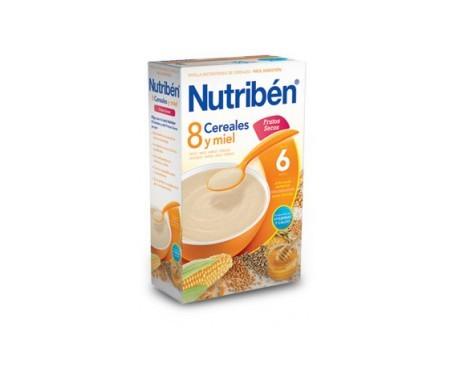 Nutribén® 8 cereales con miel y frutos secos 600g