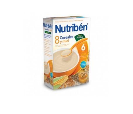 Nutribén® 8 cereales con miel y bífidus 600g