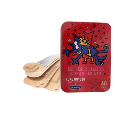 Hansaplast Universal 40 Apositos + Regalo Caja Colección Kukuxu