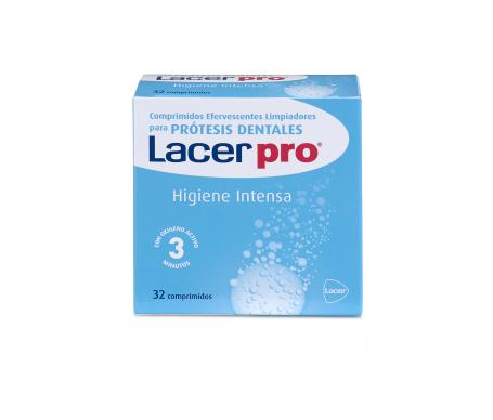 Lacer Protabs tabletas limpiadoras de prótesis dentales 32uds