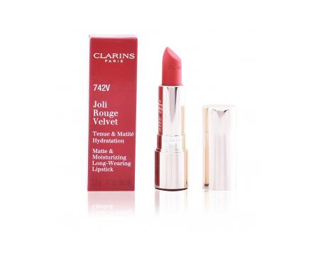 Clarins Joli Rouge Velvet Lipstick 742