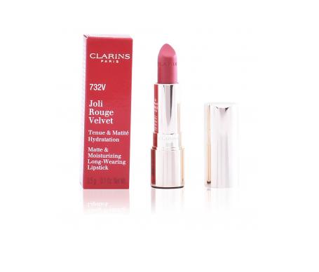 Clarins Joli Rouge Velvet Lipstick 732