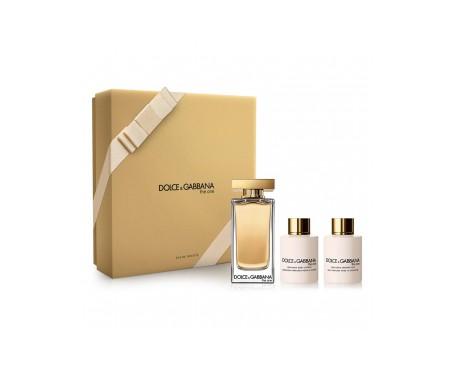 Dolce & Gabbana The One 300ml + Perfumed Body Lotion 100ml + Shower Gel 100ml